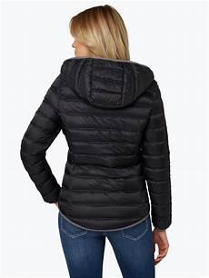 lund damen daunenjacke schwarz uni kaufen