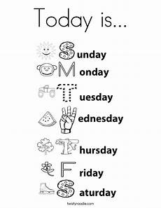 free s day worksheets for preschool 20585 days of the week coloring page coloring pages months in a year