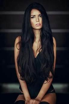lange schwarze haare ich hab auch schwarze haare aber ich hab locken haha by