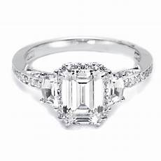 emerald cut diamond engagement rings a different option for you dover jewelry blog