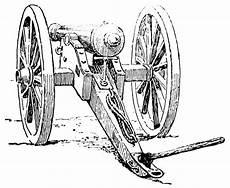 clipart etc civil war canon clipart etc