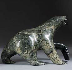carving soapstone inuit soapstone carved polar