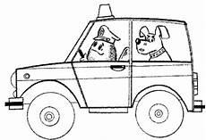 ausmalbilder zum drucken malvorlage polizeiauto kostenlos 1