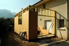 comment faire une extension de maison extension bois