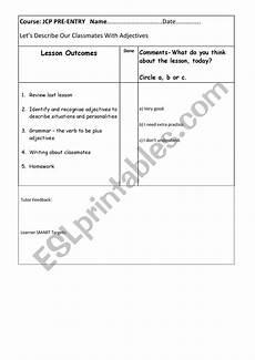 punctuation worksheets entry 1 20755 pre entry adjectives workbook esl worksheet by sarahashpack