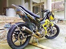 Satria Fu Modif Trail by Suzuki Satria Fu 150 Modifikasi Trail Thecitycyclist