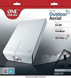 one for all one for all sv 9455 hdtv tv antenna