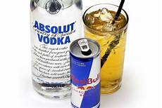 mixing vodka with energy drinks found to increase desire