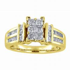 tradition diamond 10k yellow gold 1 cttw certified diamond ring size 7 only shop your