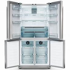 rangemaster rsxs18iv c style four door fridge freezer non ice water ivory appliance