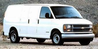 1999 Chevrolet Express Cargo Van Dimensions  ISeeCarscom