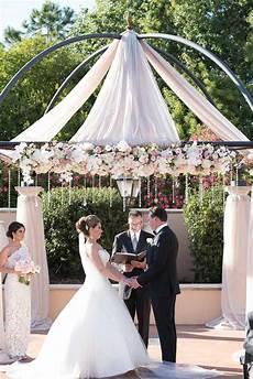 outdoor wedding at loews portofino bay hotel in orlando fl the celebration society