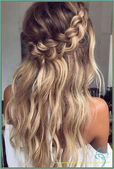 hochsteckfrisuren lange haare halboffen locken frisur
