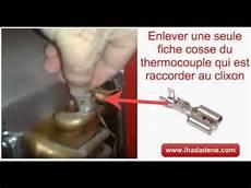 changer un thermocouple chauffe bain junkers