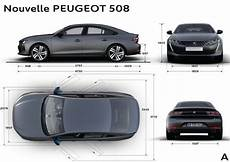 Peugeot 508 Dimensions Peugeot 508 2 2018 La Nouvelle Berline 508 En D 233