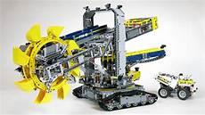lego technic lego technic 42055 wheel excavator demo