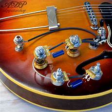 gibson 335 wiring kit control electro cable es 335 vintage wiring harness gibson epiphone es 330 ebay