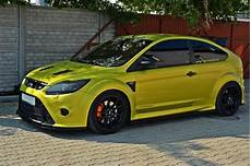 front splitter v 1 ford focus mk2 rs carbon look our