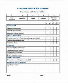 free 31 survey forms in pdf excel ms word