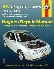 car engine repair manual 1988 volkswagen gti engine control vw golf gti jetta 1999 thru 2005 automotive repair manual con im 225 genes jetta 1999