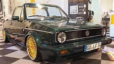 volkswagen golf 1 cabrio g 246 ttinger tuning by werk34
