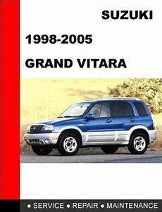 service repair manual free download 2002 suzuki grand vitara head up display suzuki grand vitara 1998 2005 service repair manual tradebit
