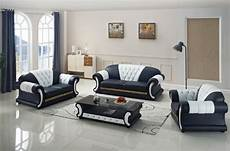 sofa set living room furniture with genuine leather 3 pcs
