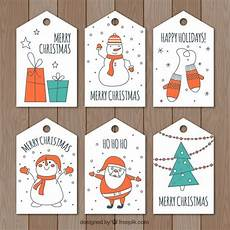 drawn christmas tags free vector christmas graphics merry christmas happy holidays