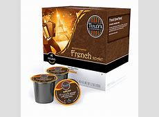 Keurig® Tully's® French Roast Decaf Extra Bold K Cup