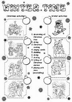 winter solstice worksheets free 20090 winter esl worksheet by daka3