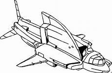 raumschiff futuristisch ausmalbild malvorlage science
