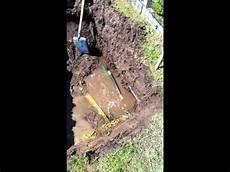 detection et reparation d une fuite d eau sur un tuyau pe