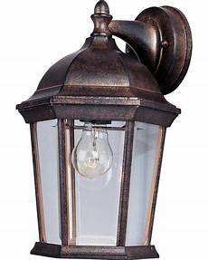 1024eb empire bronze clear glass 1 light 12 quot tall outdoor wall sconce from the builder