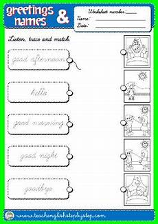 greetings worksheet year 3 19136 step by step 1st graders teach step by step