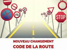 réforme du code de la route nouveau changement dans le code de la route