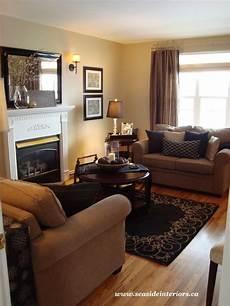 black beige living room