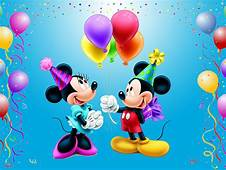 Mickey Mouse Happy Birthday Minnie Celebration Balloons