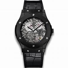 ultra thin black hublot classico ultra thin all black classic fusion watches