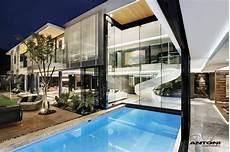 Traumhaus Modern Innen - modern mansion with interiors by saota