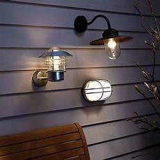 nordlux vejers outdoor wall light galvanised steel wall lights outdoor wall lighting