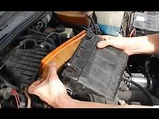 luftfilter golf 6 vw golf 2 luftfilter wechseln tutorial filter 214 lig