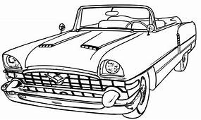 Hot Rod Car Coloring Pages At GetColoringscom  Free