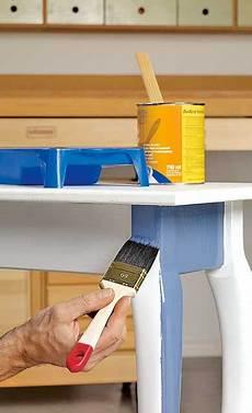 Tisch Abschleifen Lackieren Restaurieren Reparaturen
