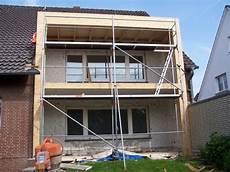 anbau wohnhaus zhg holz dach