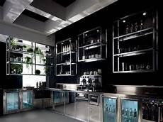 mensole bar banco bar alukuadro con struttura tubolare di alluminio