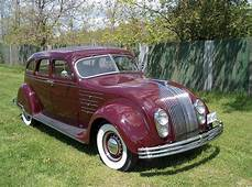 1934 Chrysler Imperial Airflow 4 Door  And