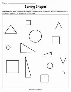 sorting by shape worksheets for kindergarten 7887 sorting shapes worksheet teaching