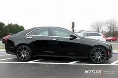 cadillac ats custom wheels savini bm12 19x et tire size