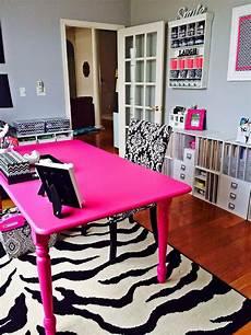 pink craft room pop scrapbook com pink furniture