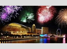 what time fireworks start tonight